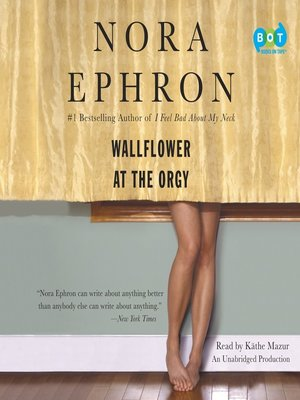 cover image of Wallflower at the Orgy