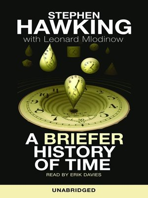 cover image of A Briefer History of Time