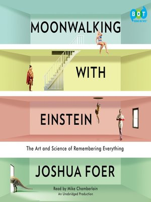 cover image of Moonwalking with Einstein