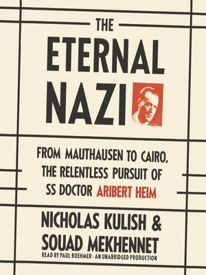 cover image of The Eternal Nazi