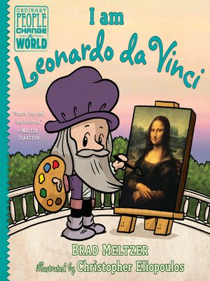 cover image of I am Leonardo da Vinci