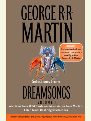 cover image of Selections from Dreamsongs 3