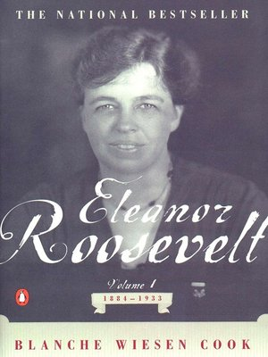 cover image of Eleanor Roosevelt, Volume 1