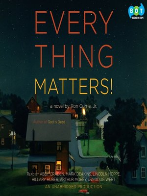 cover image of Everything Matters!