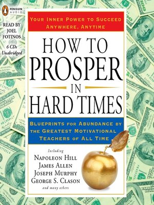 cover image of How to Prosper in Hard Times