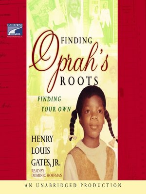 cover image of Finding Oprah's Roots