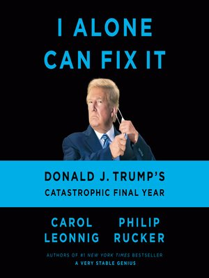 cover image of I Alone Can Fix It