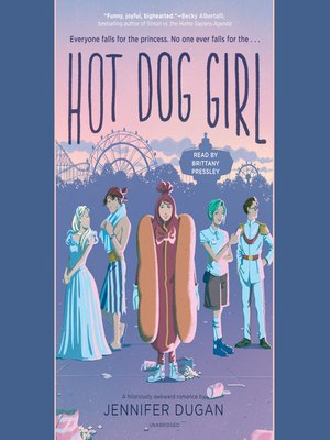 cover image of Hot Dog Girl