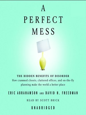 cover image of A Perfect Mess
