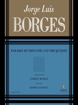 cover image of Parable of Cervantes and the Quixote