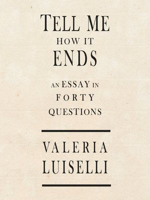 cover image of Tell Me How It Ends