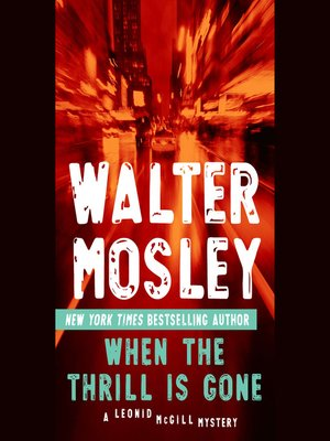 cover image of When the Thrill is Gone
