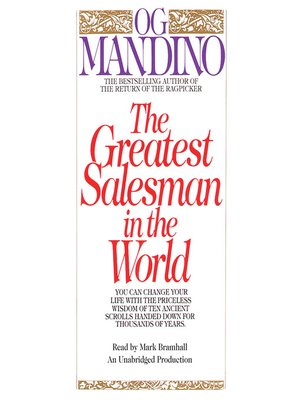 cover image of The Greatest Salesman in the World