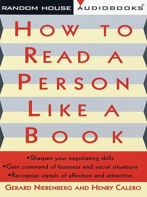 cover image of How to Read a Person Like a Book