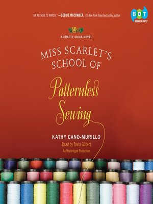 cover image of Miss Scarlet's School of Patternless Sewing