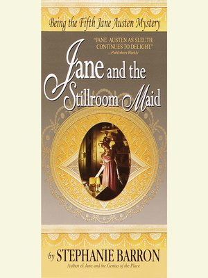 cover image of Jane and the Stillroom Maid