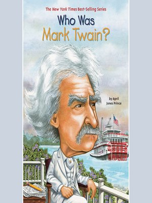 cover image of Who Was Mark Twain?