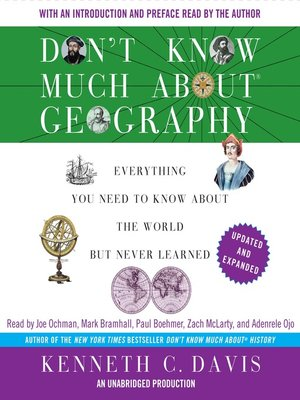 cover image of Don't Know Much About Geography