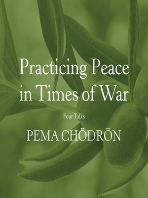 cover image of Practicing Peace in Times of War