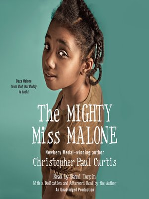 cover image of The Mighty Miss Malone