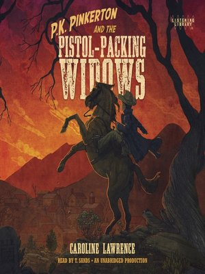 cover image of P. K. Pinkerton and the Pistol-Packing Widows