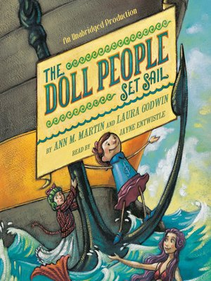 cover image of The Doll People Set Sail
