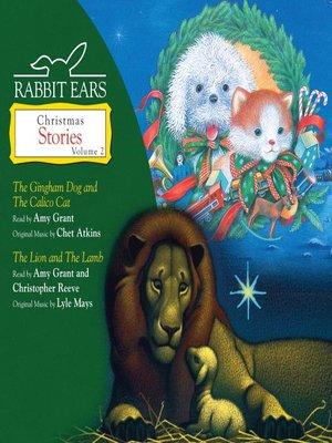 cover image of Rabbit Ears Christmas Stories, Volume 2
