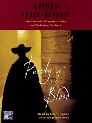 cover image of Purity of Blood