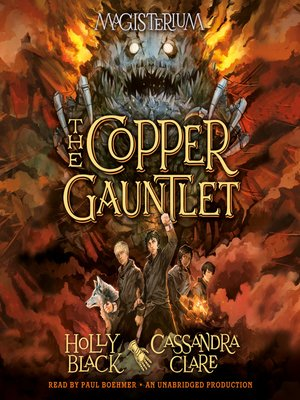 cover image of The Copper Gauntlet