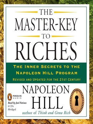cover image of The Master-Key to Riches