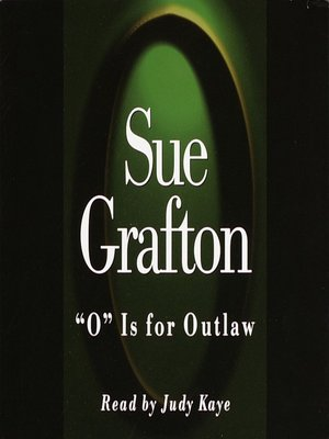 """cover image of """"O"""" is for Outlaw"""