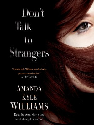 cover image of Don't Talk to Strangers