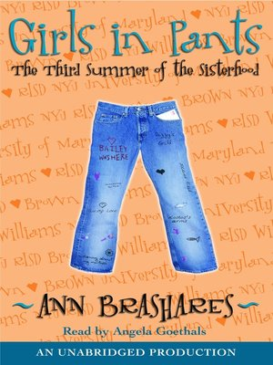 cover image of Girls in Pants