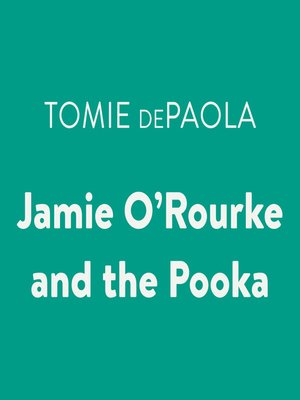 cover image of Jamie O'Rourke and the Pooka