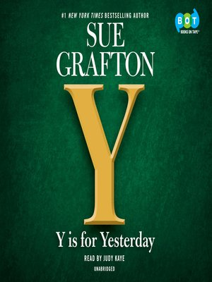 cover image of Y is for Yesterday