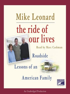 cover image of The Ride of Our Lives