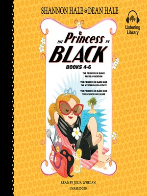 cover image of The Princess in Black, Books 4-6