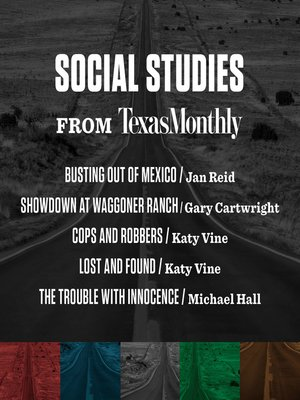 cover image of Social Studies from Texas Monthly