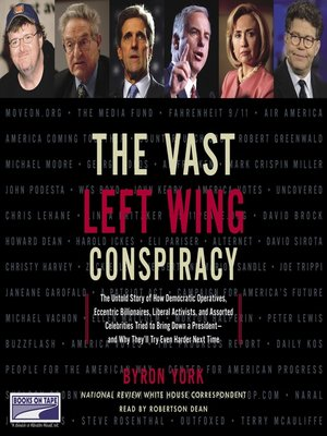 cover image of The Vast Left Wing Conspiracy