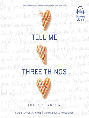 cover image of Tell Me Three Things