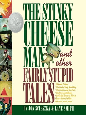 cover image of The Stinky Cheese Man