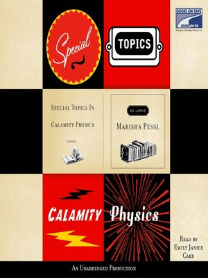 cover image of Special Topics in Calamity Physics