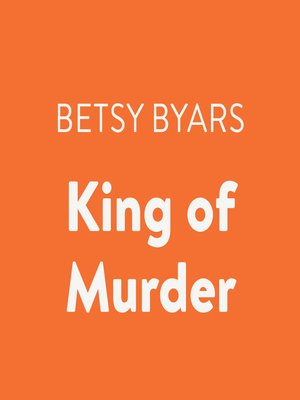 cover image of King of Murder
