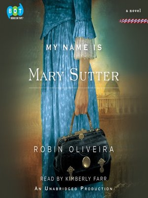 cover image of My Name Is Mary Sutter