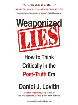 cover image of Weaponized Lies