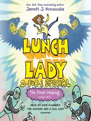 cover image of The First Helping (Lunch Lady Series, Books 1-2)