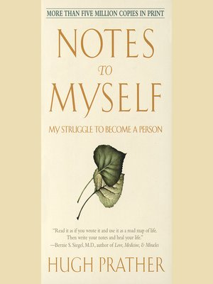 cover image of Notes to Myself
