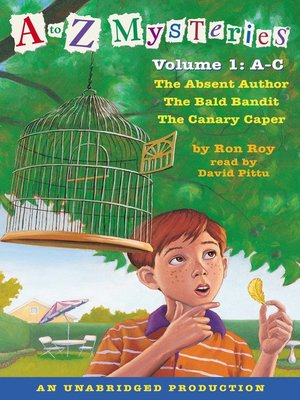 cover image of A to Z Mysteries
