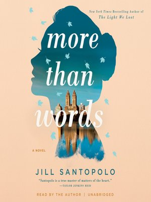 More Than Words by Jill Santopolo · OverDrive (Rakuten