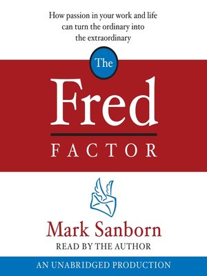 cover image of The Fred Factor